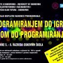 Programiranjem do igre, igrom do programiranja 2013-2014